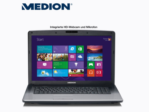 Medion Akoya E7222 (MD 99260) Multimedia-Notebook © Aldi Nord
