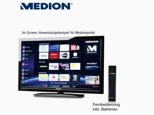 Medion Life X17004 (MD 30571) Smart-TV © Aldi Nord