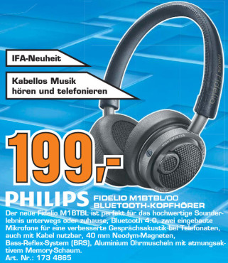 Philips Fidelio M1BTBL © Saturn