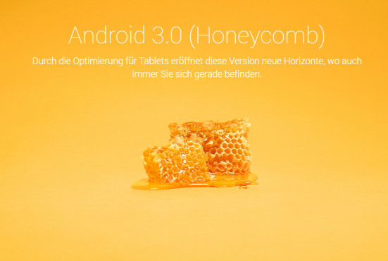 Android 3.0 Honeycomb © Google