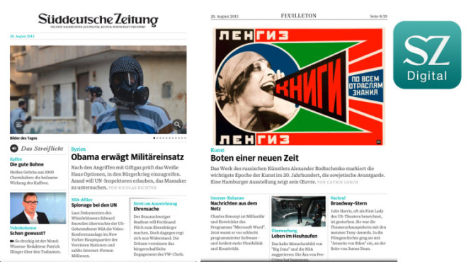 SZ Digital ©SZ Digitale Medien GmbH