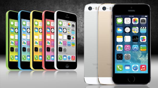 iPhone 5S und iPhone 5C ©Apple, COMPUTER BILD