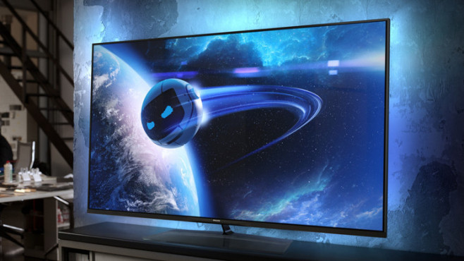 Elevation Smart TV 60PFL8708S: Lichtspiele von Philips © Philips