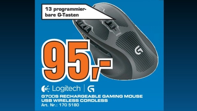 Logitech G700S ©Saturn