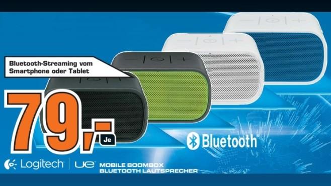 Logitech UE Mobile Boombox ©Saturn