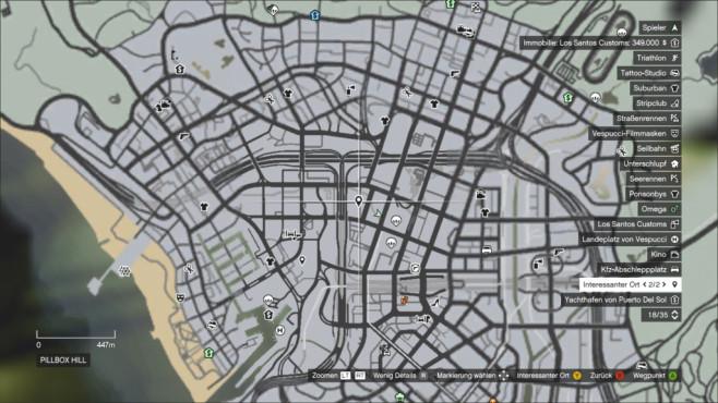 Зеленые круги на карте в гта 5