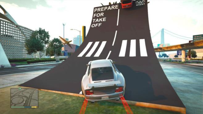GTA 5: Monsterstunt 23 ©Rockstar Games