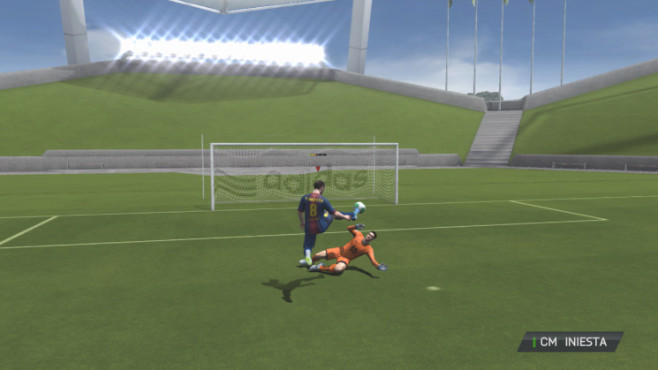 Fifa 14: Volley-Abnahme © Electronic Arts