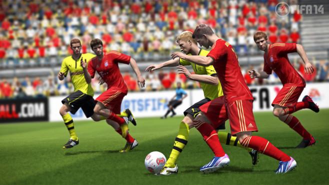 Fußballspiel Fifa 14: Tor ©Electronic Arts