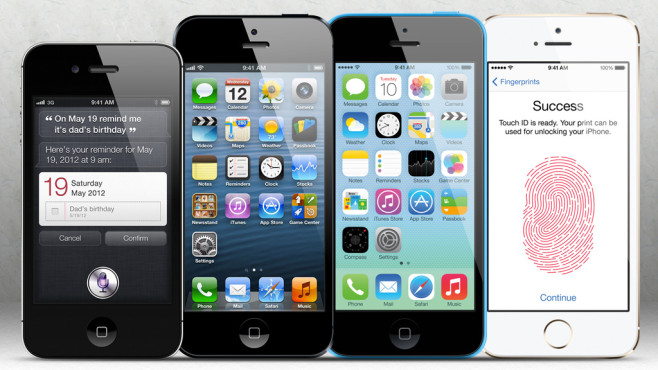 Iphone 5s Vergleich Iphone5
