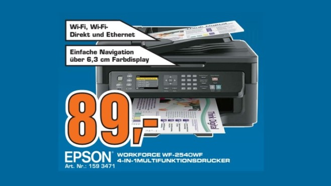 Epson Workforce WF-2540WF © Saturn