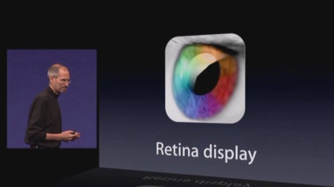 iPhone 4 Retina Display © Apple