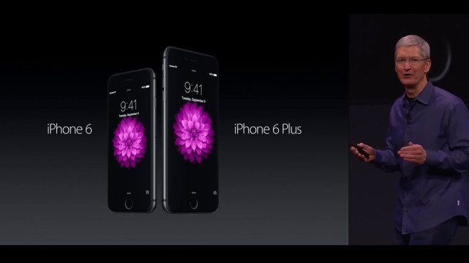 iPhone 6 und iPhone 6 Plus © Apple