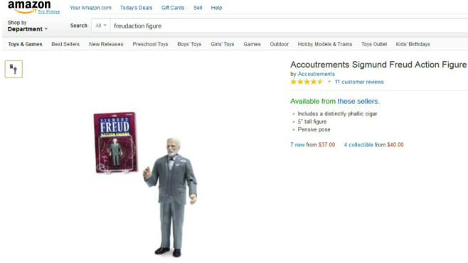 Sigmund Freud Actionfigur © Amazon