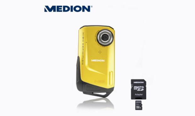 Medion Life S47121 (MD 86782) Unterwasser-Camcorder ©Aldi Nord