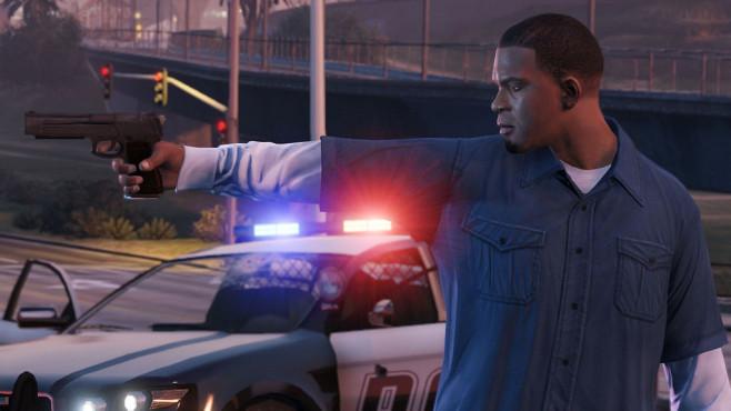 Actionspiel GTA 5: Polizeiauto ©Rockstar Games