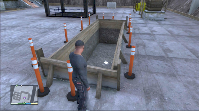 GTA 5: Schnipsel Baustelle ©Rockstar Games