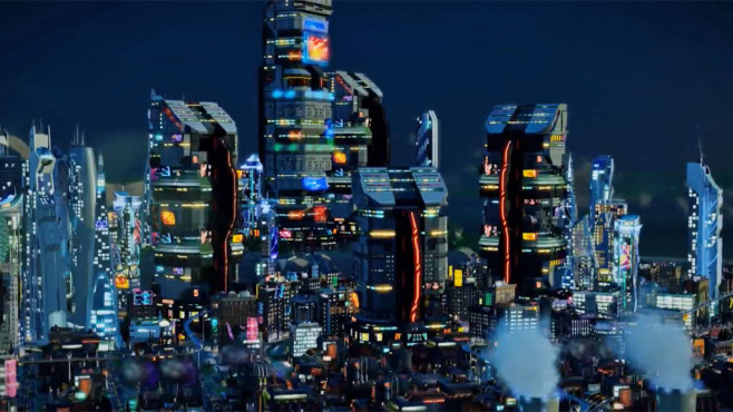 Simulation Sim City: Zukunft © Electronic Arts