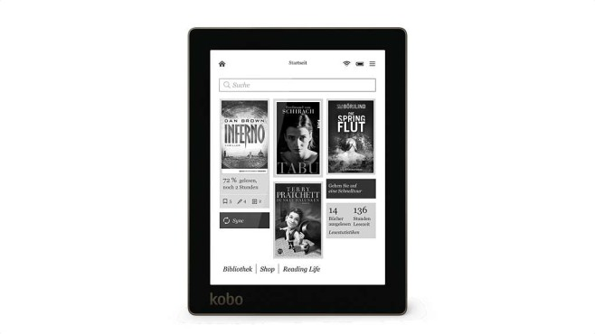eBook-Reader Kobo Aura © Kobo