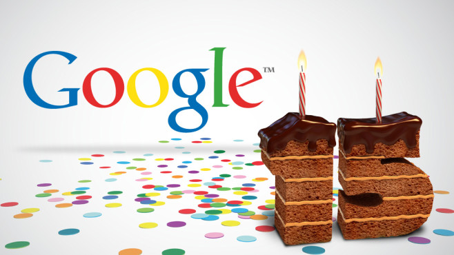 Googles Geburtstag