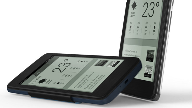 Alcatel One Touch Hero E-Ink-H�lle © Alcatel One Touch