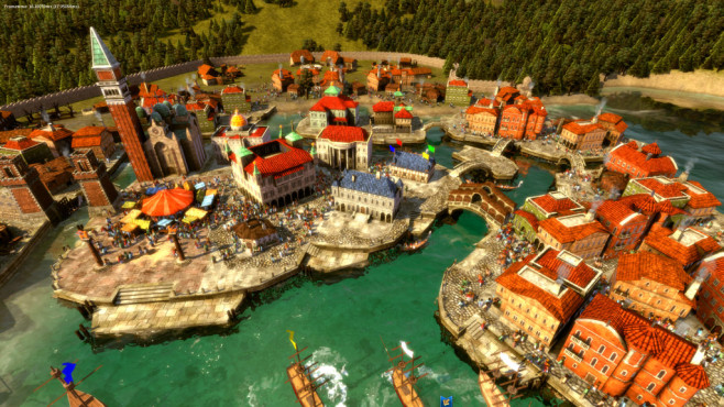Strategiespiel Rise of Venice: Venedig © Kalypso Media