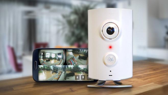 piper berwachungsanlage per smartphone steuern computer bild. Black Bedroom Furniture Sets. Home Design Ideas