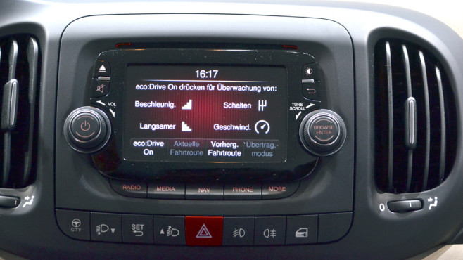 Connected Car Fiat © COMPUTER BILD