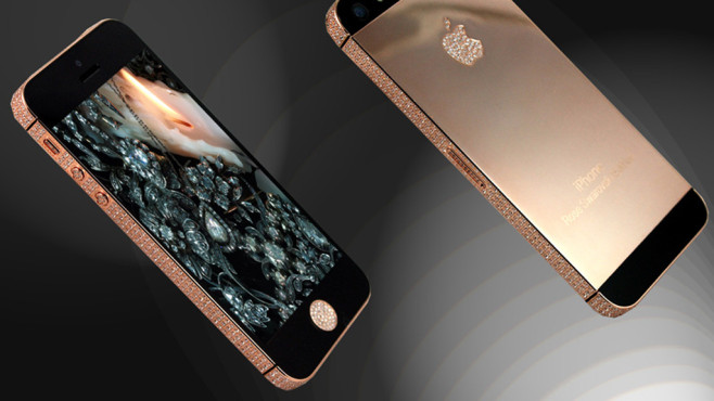 Rotgold iPhone 5S Ambassador © Apple, Goldstriker
