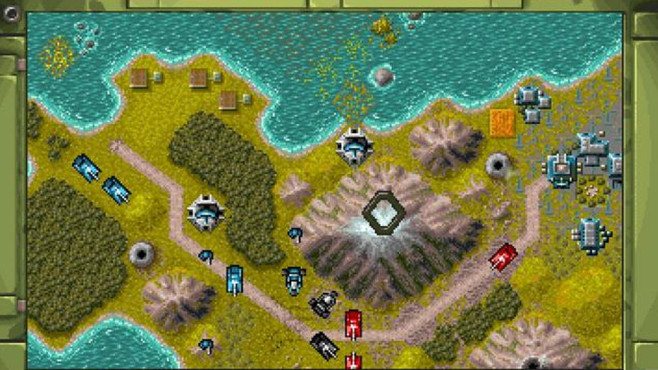 Strategiespiel Battle Isle: Karte © Blue Byte