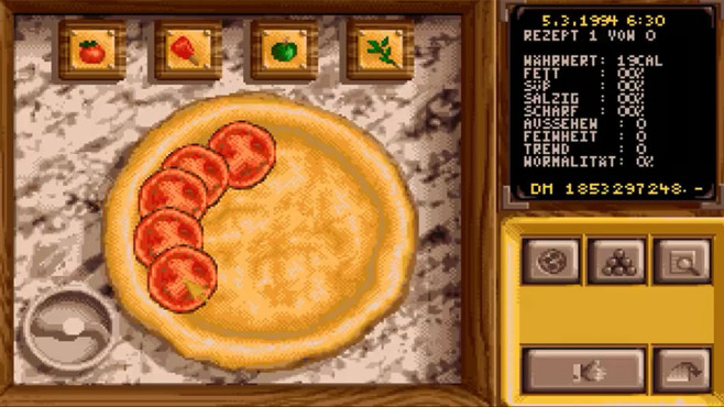 Wirtschafts-Simulation Pizza Connection: Pizza © Software 2000