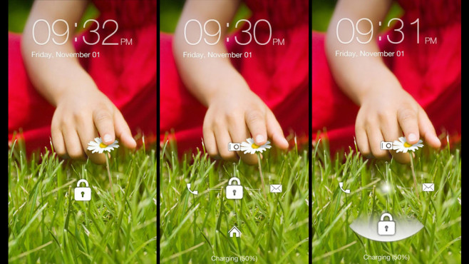 "LG G2 Lock Screen Go Locker (""Go Locker""-Theme) © Themes for Droids"