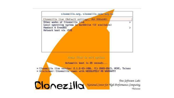 Clonezilla ©COMPUTER BILD