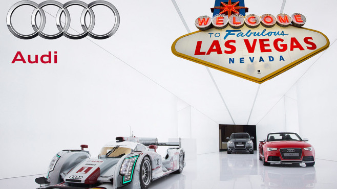 Audi Las Vegas Reise © T. Ruddies, picture alliance