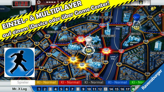 Scotland Yard © Ravensburger Digital GmbH
