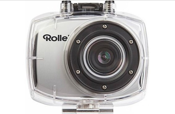 Rollei Racy Full-HD (silber) Action-Camcorder ©Media Markt