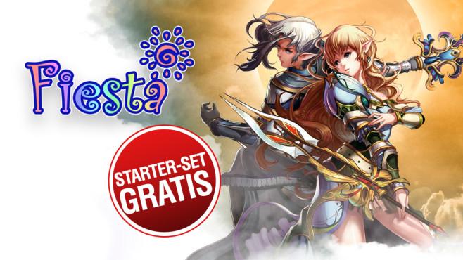 Fiesta Online Starter-Set-Aktion ©Gamigo