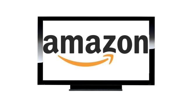 TV-Gerät mit Amazon-Logo ©Montage: COMPUTER BILD