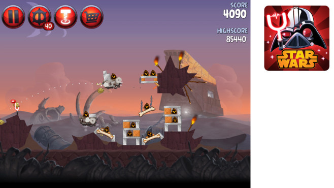 Angry Birds – Star Wars 2 © Rovio Mobile Ltd.
