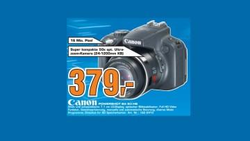 Canon PowerShot SX50 HS ©Saturn