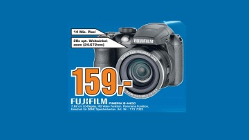 Fujifilm FinePix S4400 © Saturn