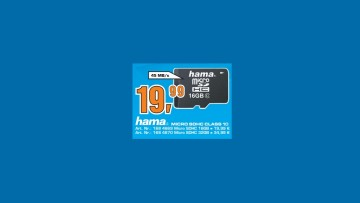 Hama microSDHC 16GB Class 10 UHS-I (00114733) ©Saturn