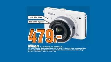 Nikon 1 J3 Kit 10-30 mm weiß ©Saturn