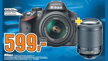 Nikon D3200 Kit 18-55 mm + 55-200 mm [Nikon VR] ©Saturn