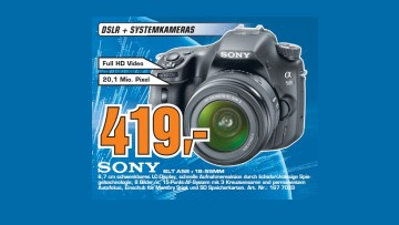 Sony Alpha 58 Kit 18-55 mm (SLT-A58K) ©Saturn