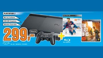 Sony Playstation 3 (PS3) Super slim 500GB ©Saturn