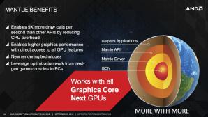 AMD Mantle Vorteile ©AMD
