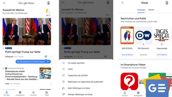 Google News ©COMPUTER BILD