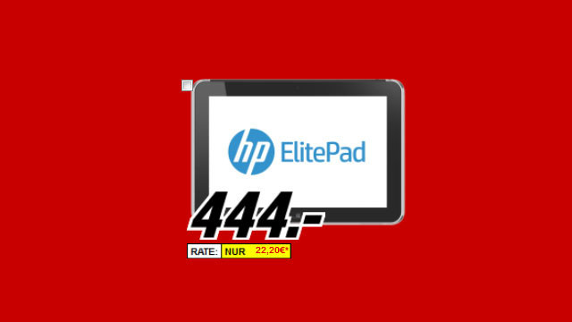 Hewlett-Packard HP ElitePad 900 (D4T15AA) © Media Markt
