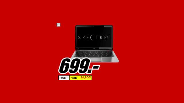 Hewlett-Packard HP Spectre XT 13-2300eg (E0R42EA) ©Media Markt